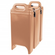 Cambro Camtainer® Coffee Beige Insulated Soup Carrier, 3.375 Gal. #350LCD157