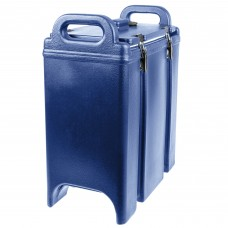 Cambro Camtainer® Navy Blue Insulated Soup Carrier, 3.375 Gal. #350LCD186