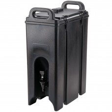 Cambro Camtainer® Black Insulated Beverage Dispenser, 18 Lit\4.75gal #500LCD110