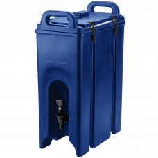 Cambro Camtainer® Navy Blue Insulated Beverage Dispenser, 18 Lit\4.75gal #500LCD186