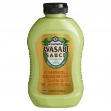 Kikkoman® USA Wasabi Sauce Bottle 21 oz. #00736