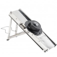 Bron Coucke Stainless Steel Professional Mandoline with Built-In 38-Blade Set \ #21038 \