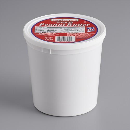 Bulk Smooth Peanut Butter 2,95kg\5 lb. Tub #0368902