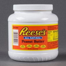 REESE'S All-Natural Peanut Butter Jar, 4.5 lb. #35024