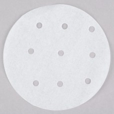 """Choice 4"""" Perforated Round Patty Paper - 500/Pack #433PPR4"""