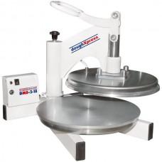 """DoughXpress Dual Heated Manual Pizza / Tortilla Dough Press 18""""\ 240V # DMS-2-18"""