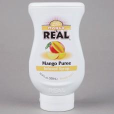 Real® Mango Puree Infused Syrup, 500ml\16.9 fl. oz. #115REALMANGO