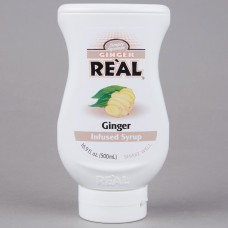 Real® Ginger Infused Syrup, 500ml\16.9 fl. oz. #115REALGNGER