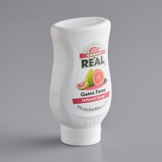 Real® Guava Puree Infused Syrup, 500ml\16.9 fl. oz. #115REALGUAVA
