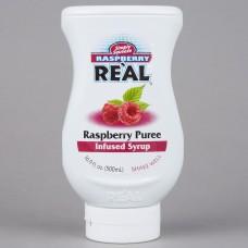 Real® Raspberry Puree Infused Syrup, 500ml\16.9 fl. oz. #115REALRSPBY