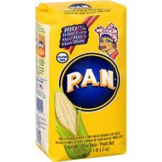 P.A.N. White Corn Meal, 2,2 lb.#700001