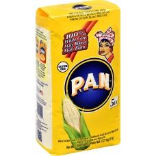P.A.N. White Corn Meal, 5lb.#500500