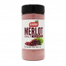 Badia Merlot Salt, 255gr\9 oz #60155
