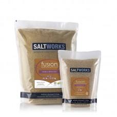 VANILLA SALT FUSION® FLAVORED SEA SALT 3.5 OZ JAR