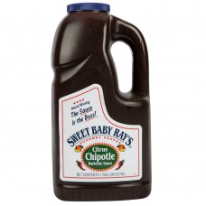 Sweet Baby Ray's 1 Gallon Citrus Chipotle Barbecue Sauce #516416