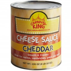 Carnival King® Can Cheddar Cheese Sauce, 106oz #599133