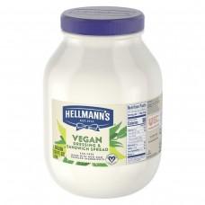 Hellmann's® USA Vegan Mayonnaise Jar, 1 gallon #010727