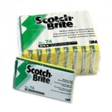 3M™ Scotch-Brite™ Medium Duty Scrub Sponge 1pc #74CC1pc