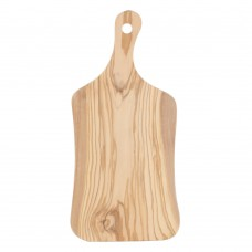 """American Metalcraft OWP157 15 1/2"""" x 7"""" Olive Wood Serving Board"""