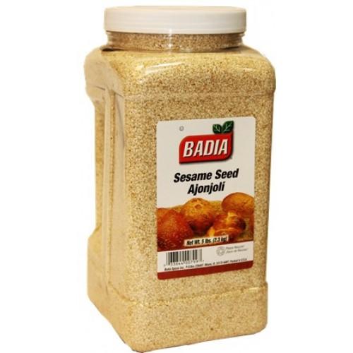Badia Sesame Seed White 5Lb #00799
