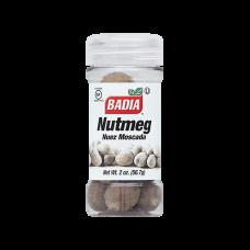 Badia Whole Nutmeg 2oz #00750