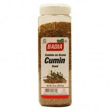 Badia Cumin Whole Seed - 16 oz #BA00582