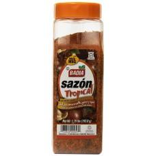 Badia Sazon Tropical Seasoning with Annatto and Coriander, 1.75Lbs #00957