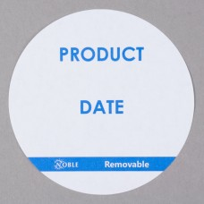 """Noble Products Round Removable Label 3"""" - 500/Roll #069514"""