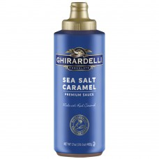 Ghirardelli® 14 fl. oz. (17 oz.) Sea Salt Caramel Flavoring Sauce #400445