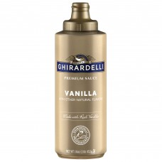 Ghirardelli® 13 fl. oz. (16 oz.) Vanilla Flavoring Sauce #0862206
