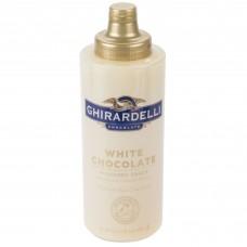 Ghirardelli® 17oz. White Chocolate Flavoring Sauce #612845