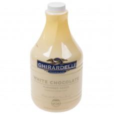Ghirardelli® 64 oz. White Chocolate Flavoring Sauce #620515