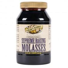 Gщldеn Bаrrеl Sulfur-Free Supreme Bаking Mоlаsses 1 Qt #32333