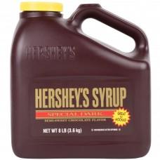 HERSHEY'S® 8 lb. Special Dark Chocolate Syrup Jug #30575