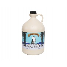 Barred Woods Pure Vermont Maple Syrup Grade A Amber Color 128 oz #BWAmbMplSrp
