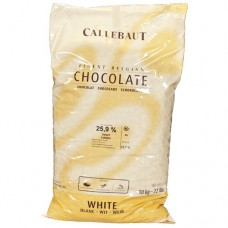 Шоколад кондитерский белый бельгийский by Callebaut