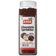 Badia Chocolate Sprinkles, 24 oz #BA00724