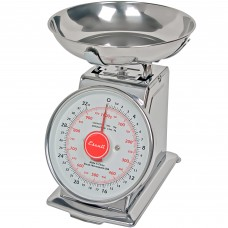 San Jamar® Escali® Mechanical Dial Portion Control Kitchen Scale w/ Removable Bowl, 2lb.#SCDLB2