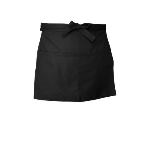 Chef Works Waist Apron Black (F9)