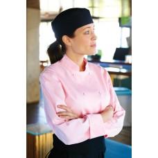 Chef Works® Marbella Women's Chef Coat Pink Size L #CWLJ-L