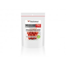"PolyScience пакеты для бытовых вакууматоров Corrugated Bags (0.5литра- pint) 6 x 10""/15.25 x 25.4cm"