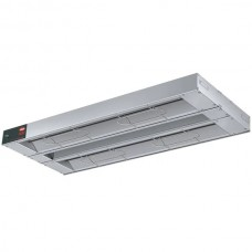 """Hatco® Glo-Ray® Dual Infrared Warmer with 6"""" Spacer and Toggle Controls - 48"""", 240V, 1600W #GRA-48D240"""