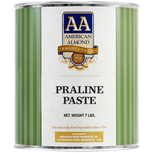 American Almond® Praline / Hazelnut Paste, #10 Can, 7lb\3,18kg #AmAlHP7LB