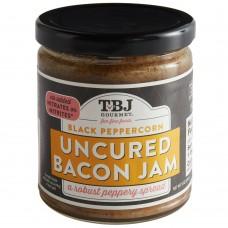 TBJ Gourmet® Uncured Bacon Jam Spread, Black Peppercorn, 9 oz. #81005027