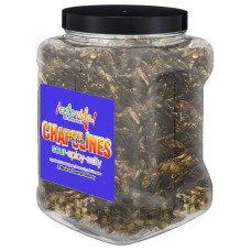 EntoVida® Chapulines Chipotle/Toasted Grasshoppers 1lb Jar #EnViChptlChplns1lb