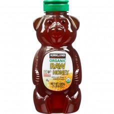 Kirkland Signature® Organic Raw Honey, Honey Bear Plastic Jar 24 oz #1032932