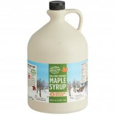 Butternut Mountain Farm Amber Rich Pure Grade A Vermont Maple Syrup, 1 Gallon