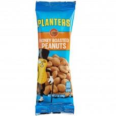 Planters® Honey Roasted Peanuts 2 oz. Individual Bags - 144/Case