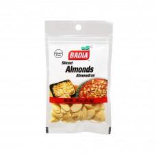Badia® Sliced Blanched Almonds 21,3gr\0,75oz #00036