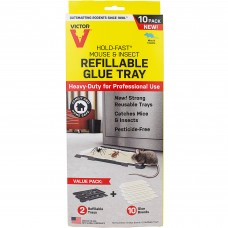 Victor® Pest Hold-Fast® Rat Glue Tray pack of 5 #M775